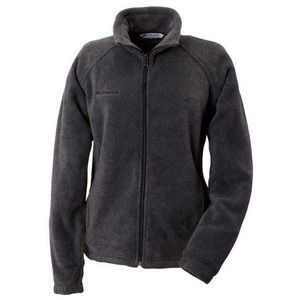 Columbia Women's Charcoal Gray Fleece Zip Jacket
